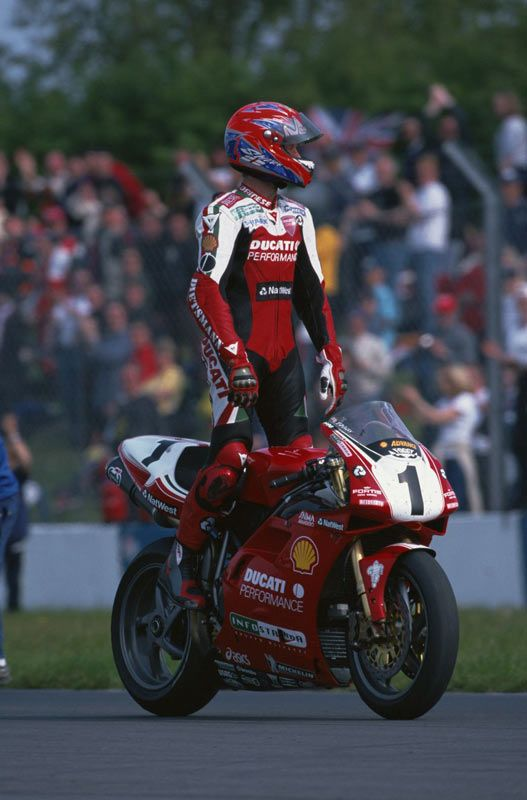 Rider profile Carl Fogarty The most dominant Superbike rider in history... I made him a cup of tea once.