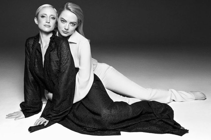 Actresses Emma Stone and Andrea Riseborough land the August 2017 cover of OUT Magazine. Photographed by Kai Z Feng, the women both wear elegant smoking jackets in the black and white image. Petra Flannery styled Emma while Maryam Malakpour styled Andrea for the glossy portraits. The pair look beyond chic in the designs of Tom...[Read More]