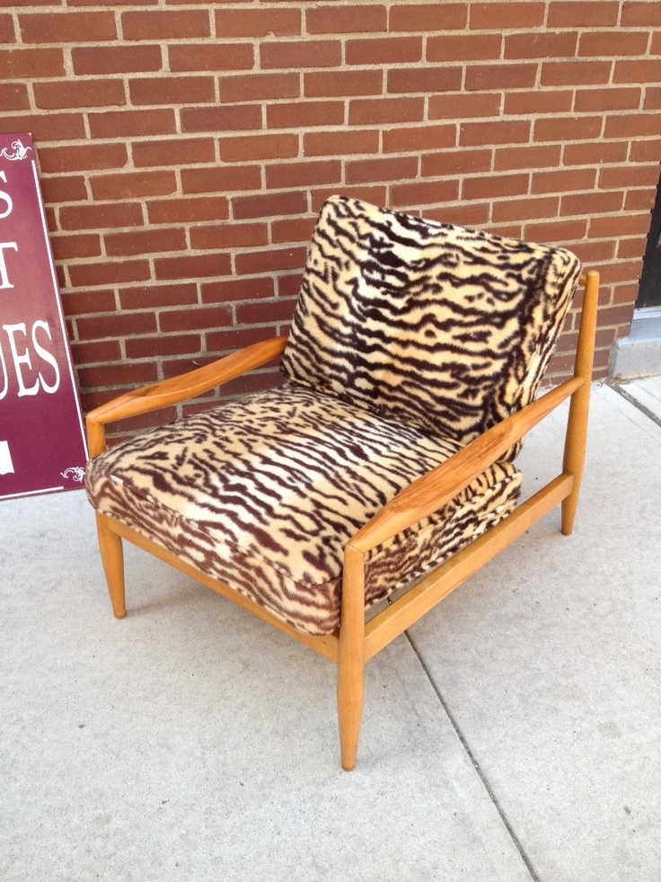 vintage adrian pearsall mid century modern animal print chair flash sale 20 off