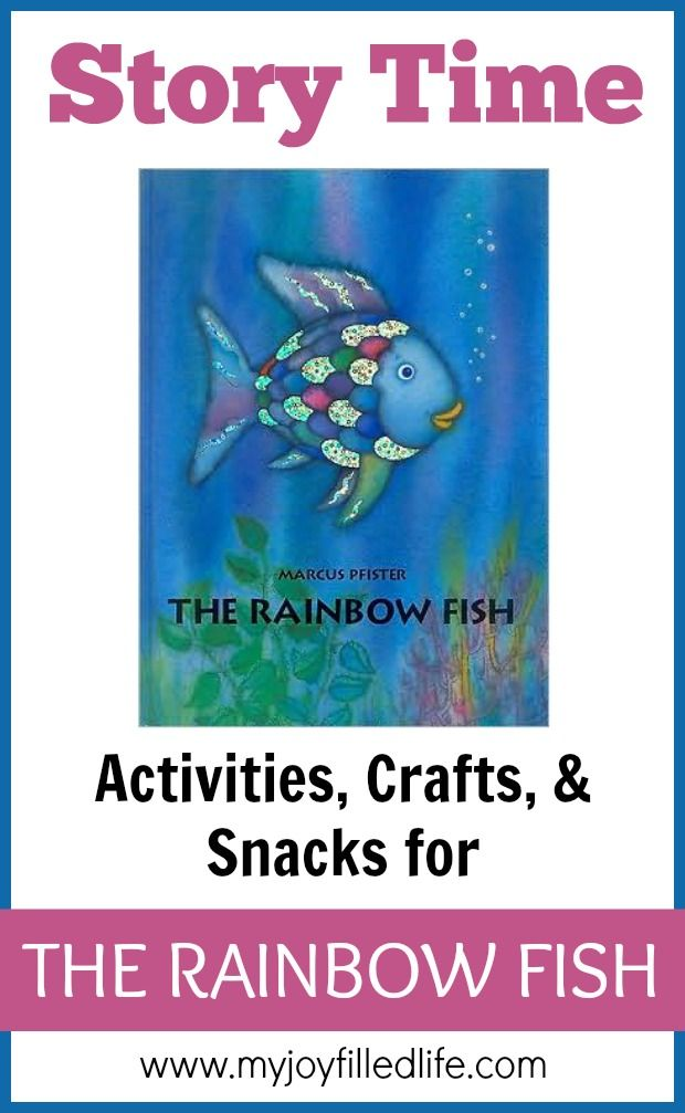 The Rainbow Fish Story Time - Activities, Crafts, and Snacks