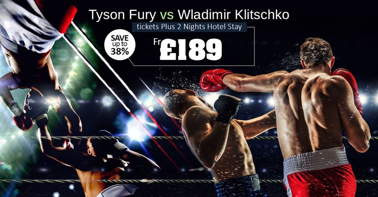Tyson Fury vs Wladimir Klitschko  Tickets Plus 2 Nights Hotel Stay  From £189  |  Save up to 38%  |   WhatsApp: 0786 002 6636  | ☎ Contact us: 0203 515 9024  |  Visit us: https://www.tourcenter.uk/  |  #tourcenteruk #travel #tours #holiday #tourpackages #holidaypackages #flightdeals