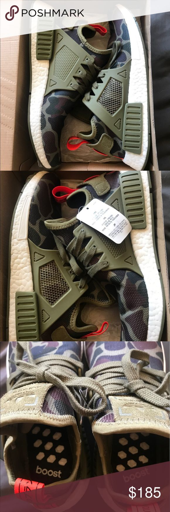 Adidas NMD Duck Camo Sz 9 Men PADS only worn around the house a few times, still has tags attached. adidas Shoes Athletic Shoes
