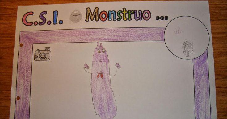 """El martes volvimos a recordar el cuento del """"Monstruo Rosa"""" de Olga de Dios. Hablamos de cómo se sentiría siendo todos iguales y el diferent..."""