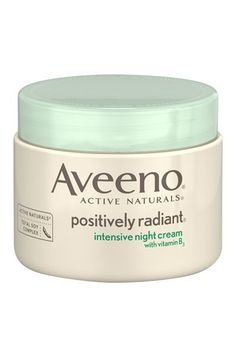 10 Best Moisturizers Under $30 Aveeno Positively Radiant Intensive Night Cream, $15