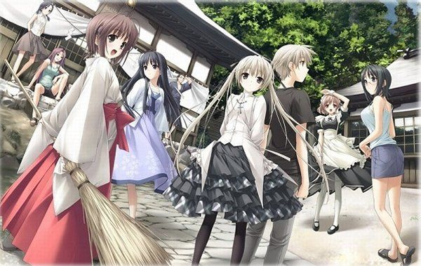 New Japanese 'Yosuga no Sora' Blu-ray Anime Box Set Gets First Promo