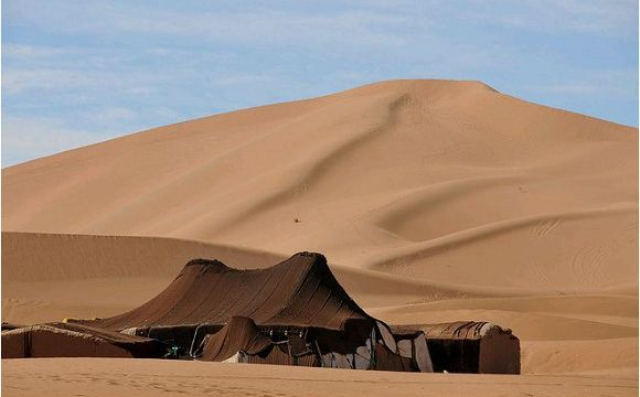Great 3 days tour from Marrakech to Erg Chebbi dunes. Experience desert camp overnight, sleep in berber tent, camel trekking, sand boarding, berber music.