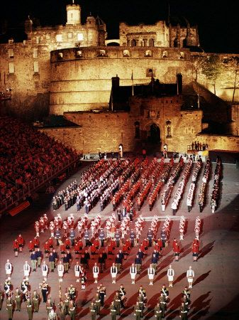 The Military Tattoo, Edinburgh, Lothian, Scotland, United Kingdom Photographie par Adam Woolfitt sur AllPosters.fr