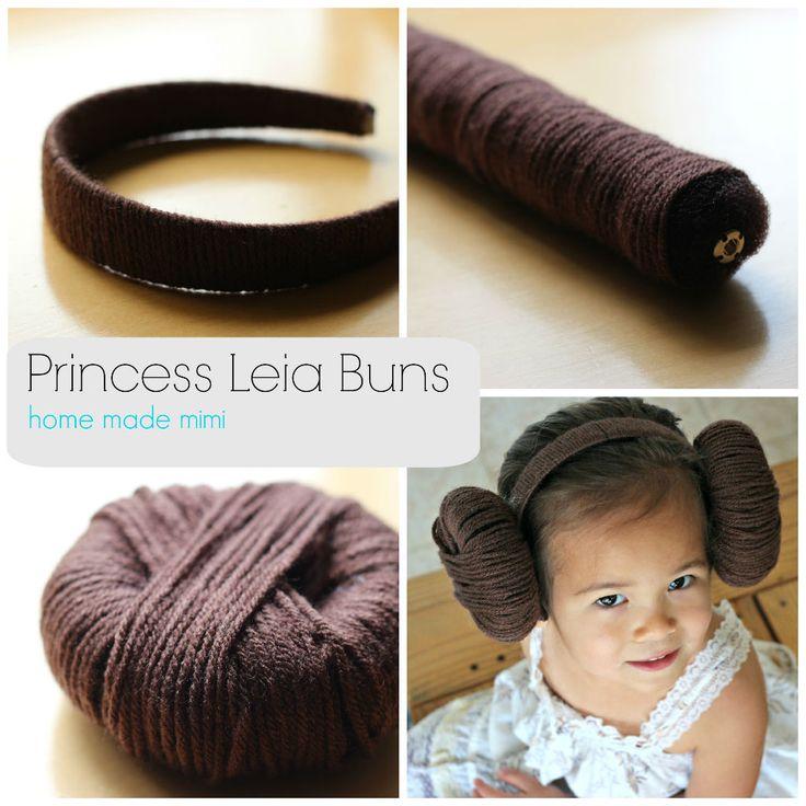 how to make a princess bun