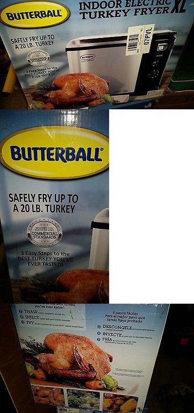 Deep Fryers 20674: Butterball Indoor Electric Turkey Fryer Xl 20Lb Nib Sealed New -> BUY IT NOW ONLY: $84 on eBay!