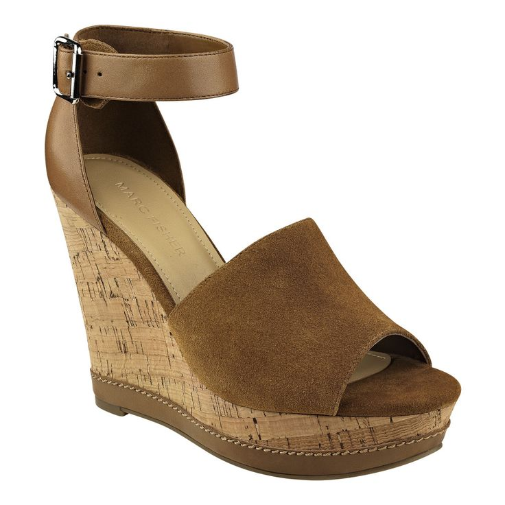 The Hillory is a suede and leather mixed media adds a luxe touch to these  cork wedge sandals. The Best of wedges in - Great Designs and Fantastic  Colours ...