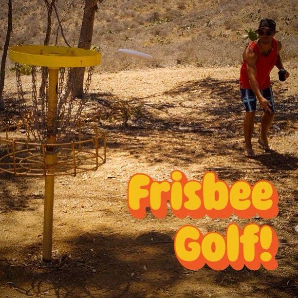 Frisbee Golf! #frisbeegolf #frisbee #catalina #theisthmus