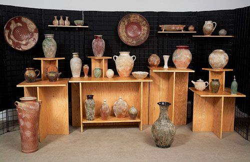 Display Booth: Jedd Peter's, Venice Clay Artists