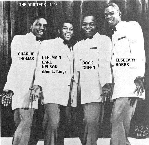Oldies First Dance Songs: In 1958 George Treadwell, The Drifters' Manager, Walked