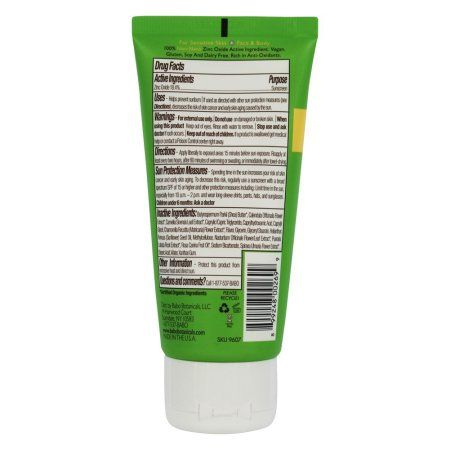 Babo Botanicals Clear Zinc Sunscreen SPF 30, 3 Fl Oz, Multicolor