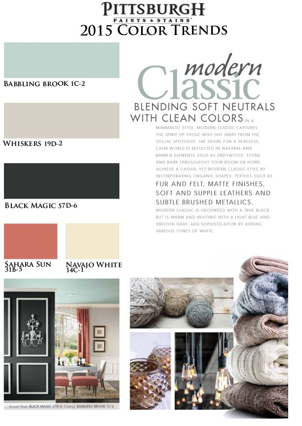 23 best 2015 Paint Color Trends images on Pinterest | Colored ...