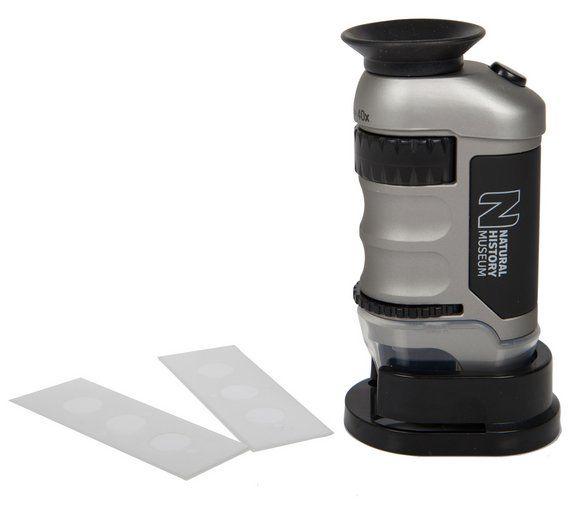 Buy Natural History Museum Pocket Microscope at Argos.co.uk, visit Argos.co.uk to shop online for Discovery and science, Creative and science toys, Toys