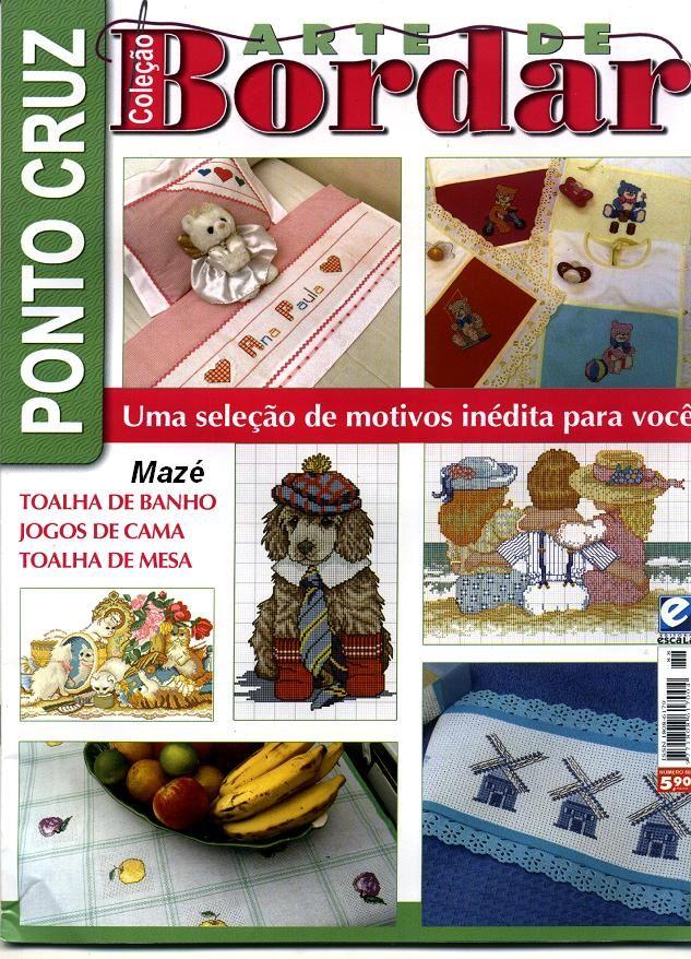 РУКОДЕЛИЕ:ВЯЗАНИЕ,ШИТЬЕ_КРОЙ: #Bordar81_pontocruz