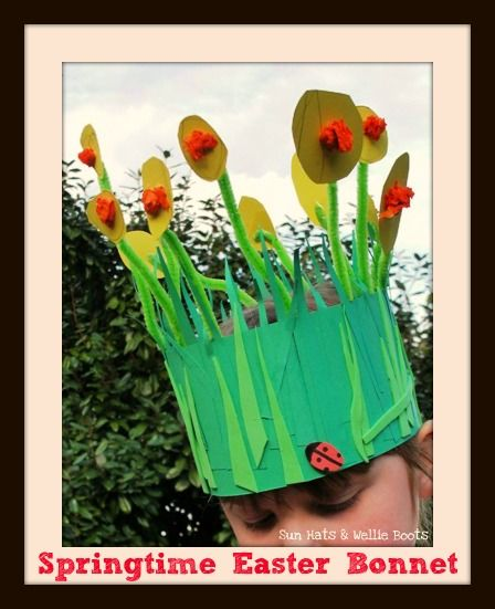 preschool boy easter bonnets | bright hat to welcome the arrival of Spring or celebrate Easter, & a ...