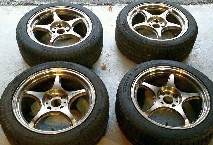 5 Zigen Rims Pre Owned Bronze 5zigen Racing Wheels
