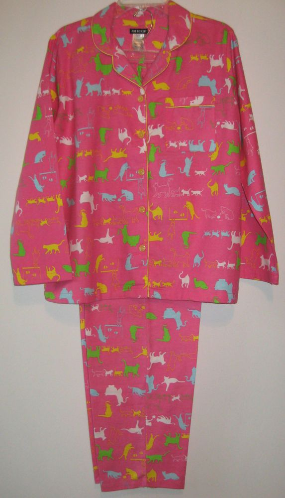 Joe Boxer Purple Winter Flannel Pajamas Womens Plus Size