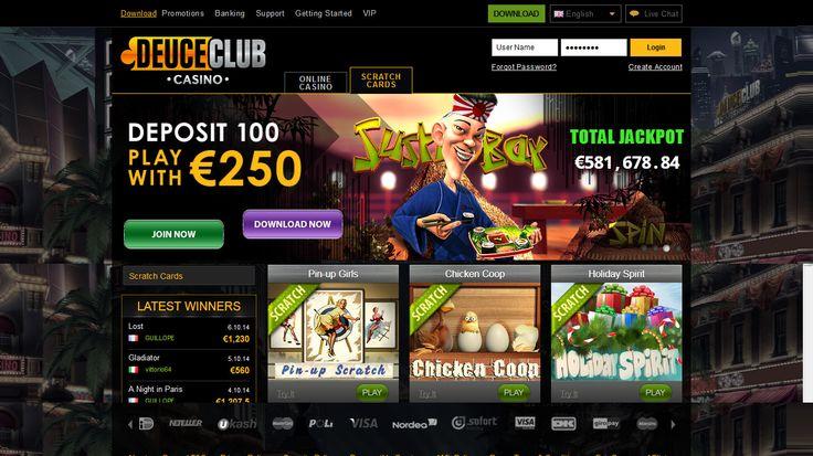 Deuce Club Casino Bonus Code