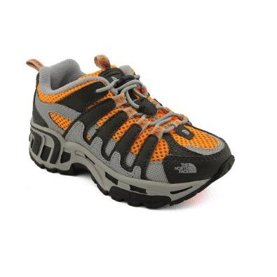 North Face Betasso Youth Boys Size 4 Orange Trail Running Shoes The North Face 5495
