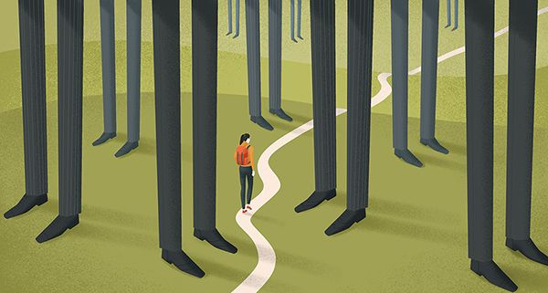 Editorial illustration for The Observer/The Guardian on Behance