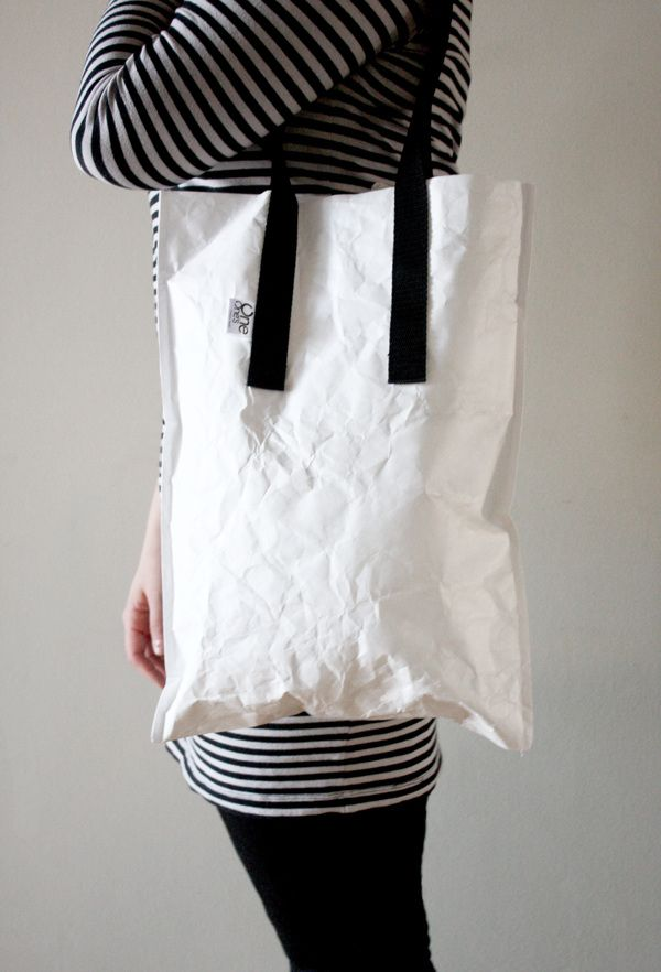 One's Tyvek® Bags M / L by Dominika Jagiełło, via Behance