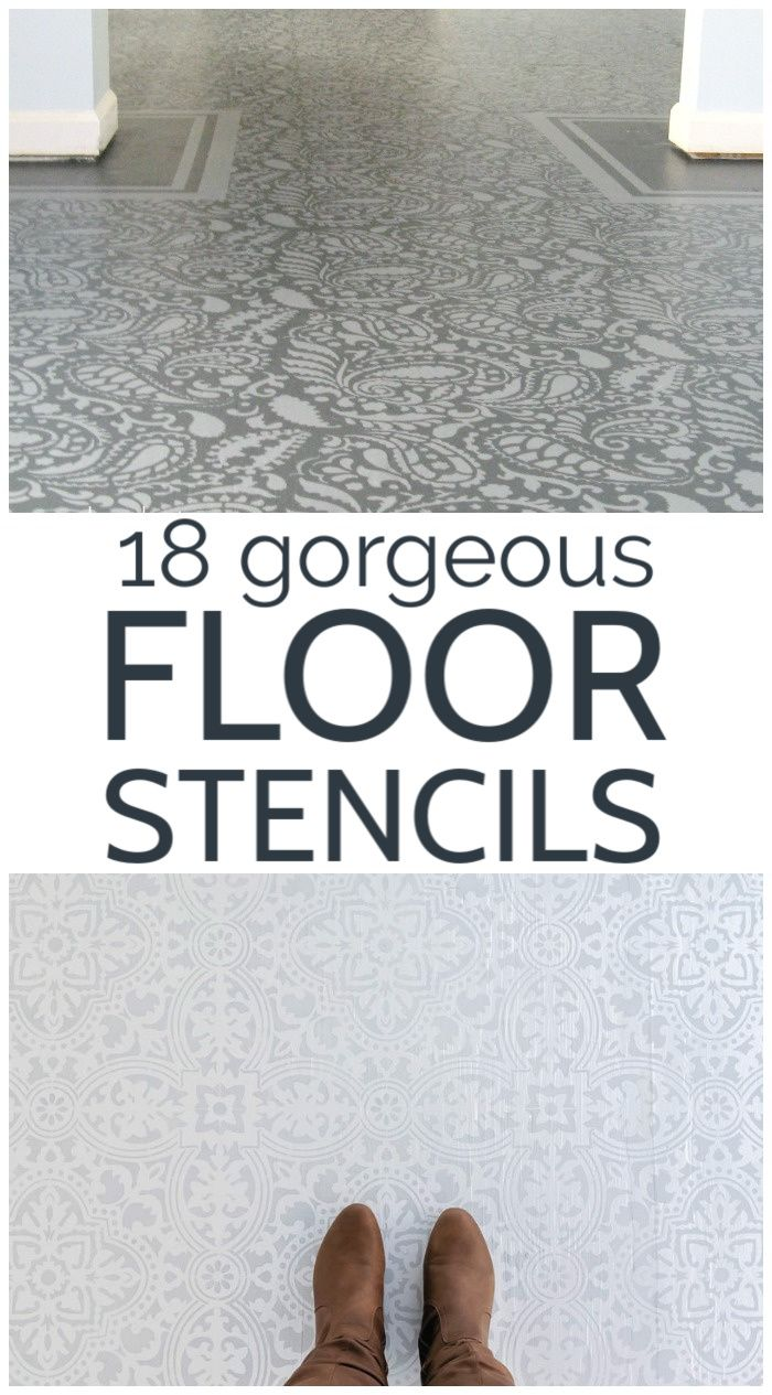 The Absolute Best Floor Stencils Plus Tips For A Perfectly Stenciled Floor In 2020 Stenciled Floor Painted Vinyl Floors Cosy Home Decor