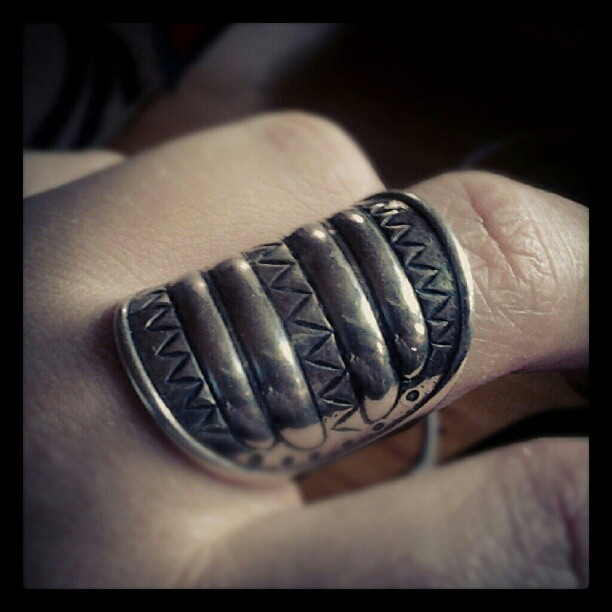 Water Symbol ring from Perniö (in silver) Kalevala Jewelry Finland