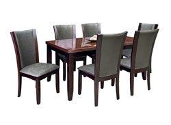 Rent Furniture Welton Samantha 7 Piece Dining Set