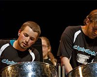 """Coastal Carolina University's Percussion Ensemble will present its """"Eclectic Expressions"""" concert on Tuesday, Nov. 18, at 7:30 p.m. in Wheelwright Auditorium. The concert is free and open to the public but ticketed."""