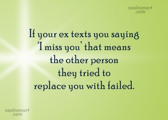 Boyfriend sayings ex about your 30 Funny