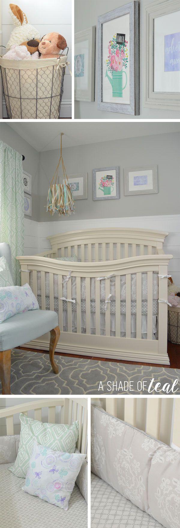 Owl crafts baby bedding nursery decor nursery crafts forward pink owl - Rustic Glam Nursery One Room Challenge The Reveal