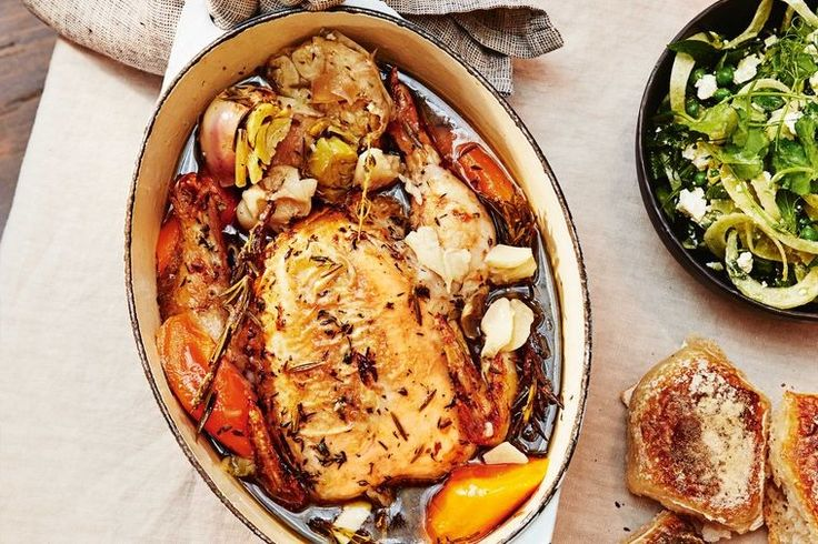 The best thing about this one-pot roast chicken? You only have to wash up one dish.