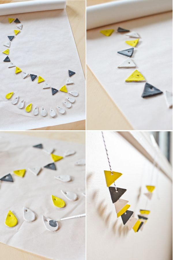 Best 25 air dry clay ideas on pinterest diy air dry clay air diy with air dry clay scandi home friday craft itsy bitsy clay bunting solutioingenieria Gallery
