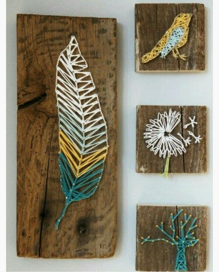 nail and thread art