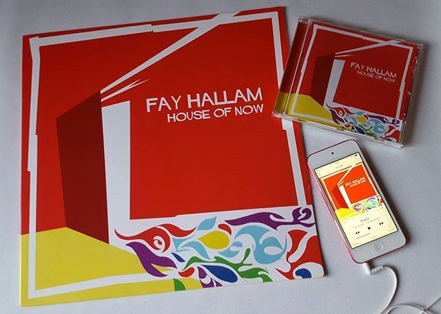 And CD makes three! The family is complete. Fay Hallam & her band, House of Now. Well Suspect Records, 2016. Such a great album. ❤ 👌  #fayhallam #houseofnow #wellsuspectrecords #vinyl #cd #download #itunes #music #fht #payformusic