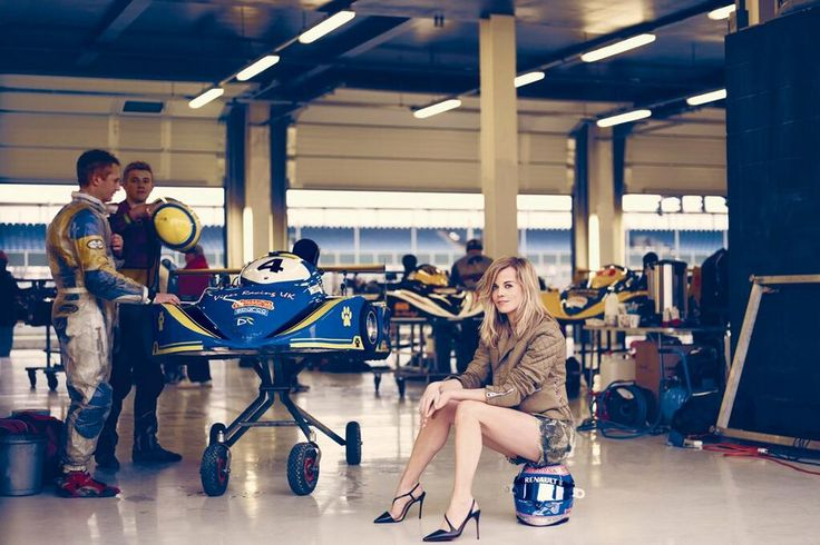 "Susie Wolff - Williams F1 Development Driver ""When I'm out there fear doesn't even come into it, the only fear I've ever experienced is of failure"""