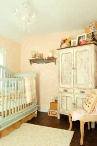 Shabby Chic, Farmhouse, or Vintage Style - whatever you want to call it, I just love how Avonlee Rose's nursery makeover turned out! You can see the full reveal on BryartonFarm.com