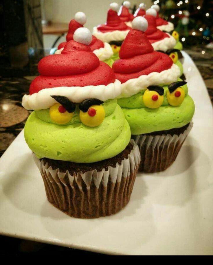 Grin ch Cupcakes