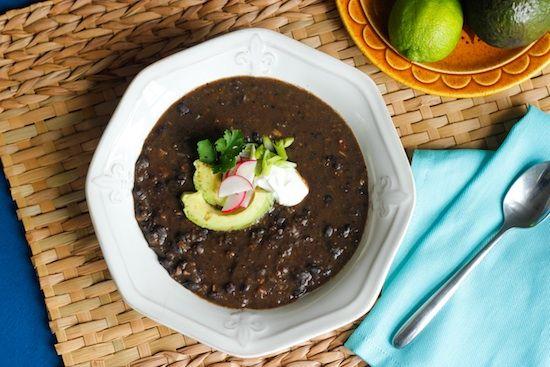 Spicy Black Bean Soup | Soupy | Pinterest