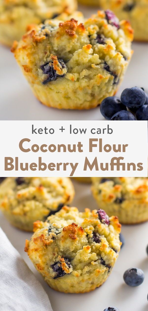 Coconut Flour Blueberry Muffins In 2021 Coconut Flour Blueberry Muffins Coconut Flour Recipes Coconut Flour Muffins