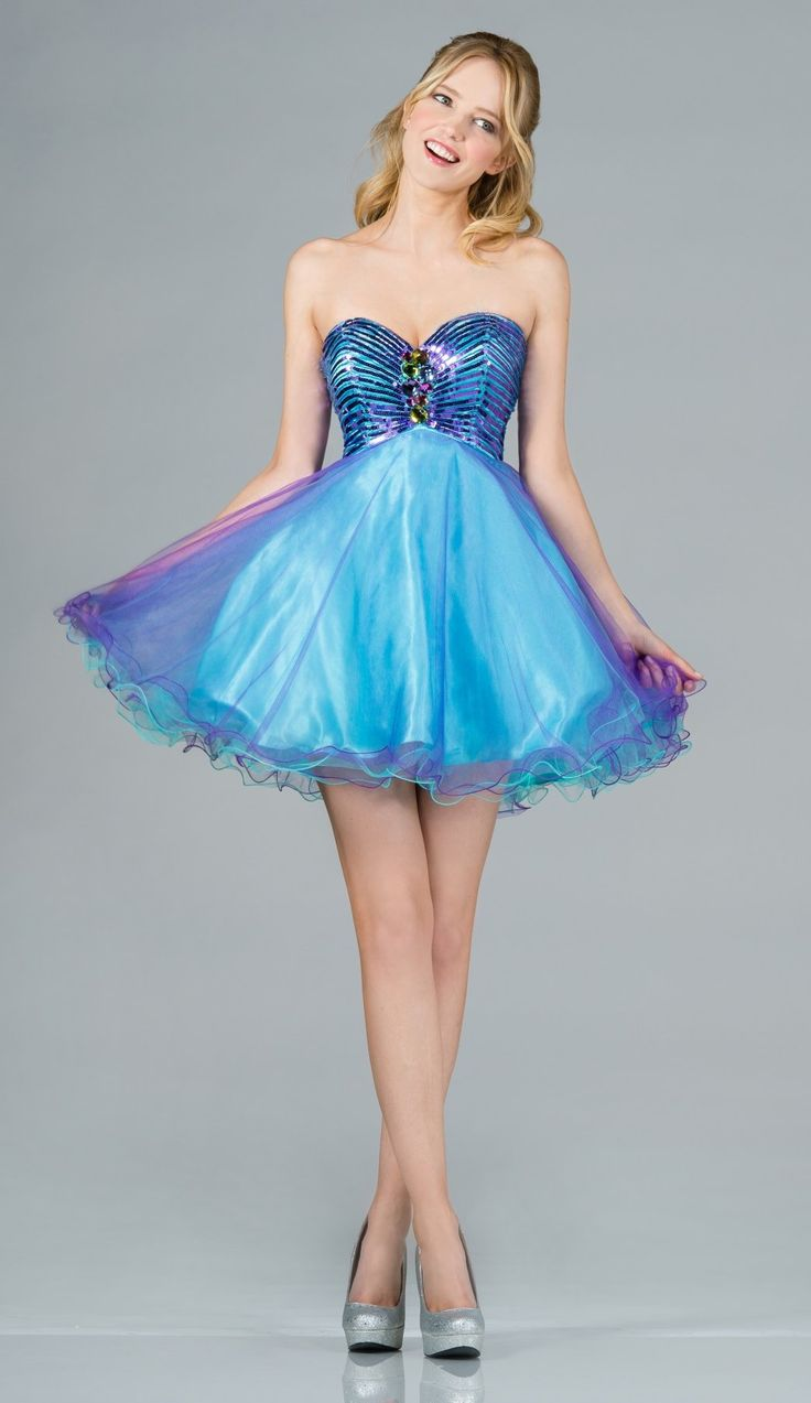 17 Best Images About Dresses. On Pinterest | Short Purple Prom Dresses Strapless Dress And High Low