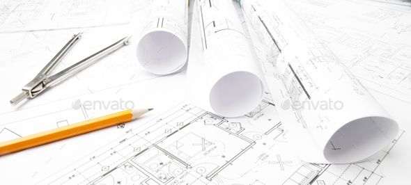 Construction Planning Drawings Portfolio Template Design Branding Design Inspiration Corporate Brochure Design
