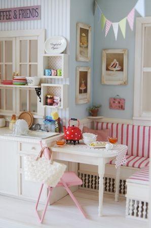 miniature breakfast nook