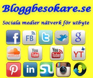 Bloggbesokare.se - Sociala medier nätverk för utbyte