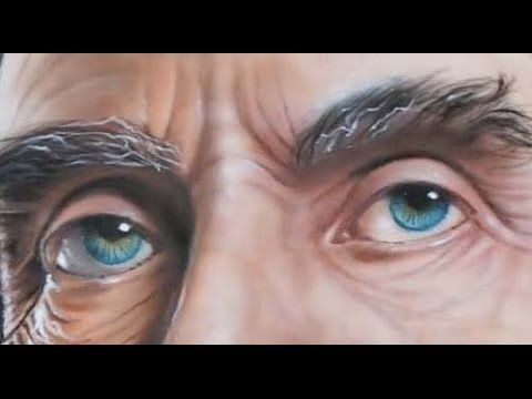 Airbrush portrait エアブラシアート 人物画編 其の二