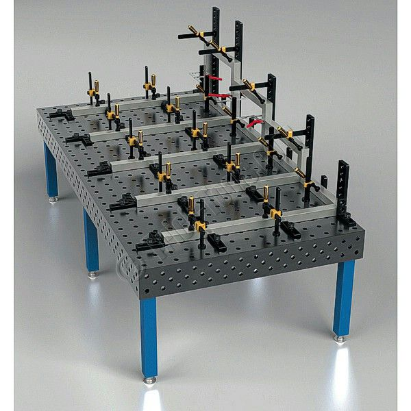 Siegmund Welding Tables made in Germany. Available from Trick-Tools.com