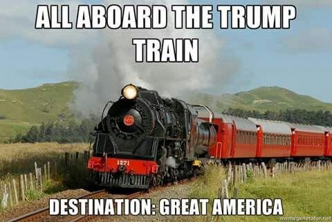All Aboard The Trump Train!!!